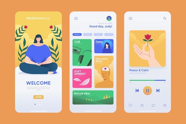 Meditations-app
