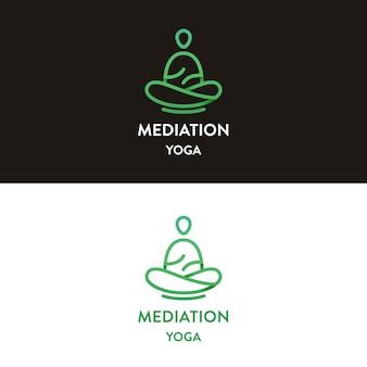 Meditations-yoga-logo-design