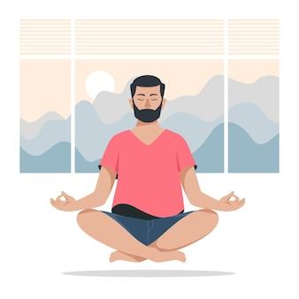 Meditationskonzept