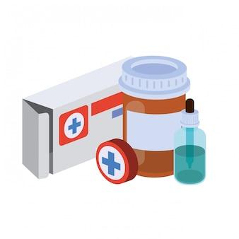 Medizin drogen isoliert