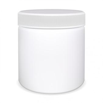 Medizin tablettenfläschchen, vitaminglas