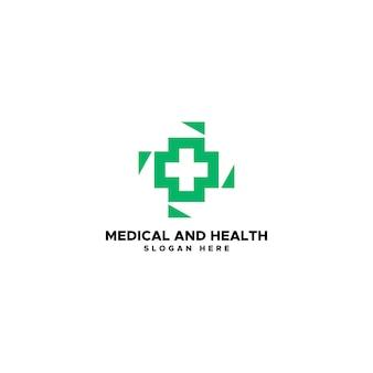 Medizin- und gesundheitslogo
