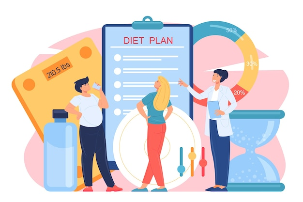 Medizinisch-professionelle herangehensweise an die probleme der fettleibigkeit