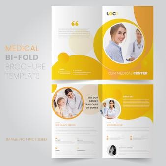 Medizinische broschüre vorlage
