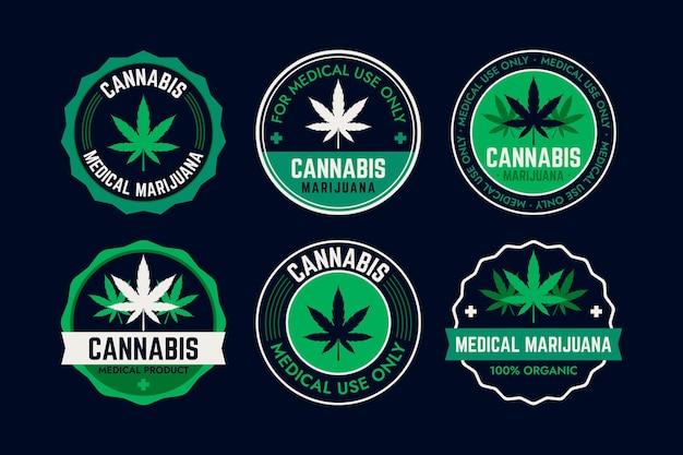 Medizinische cannabisabzeichen