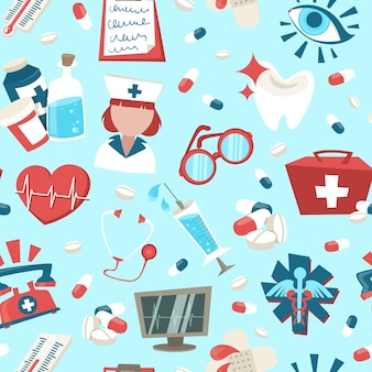 Medizinische elemente design-muster