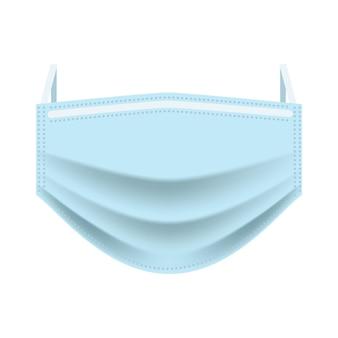 Medizinische gesichtsmaske zum schutz der atemwege vor viren, bakterien und umweltverschmutzung