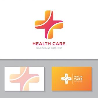 Medizinische gesundheitsversorgung logo und symbol