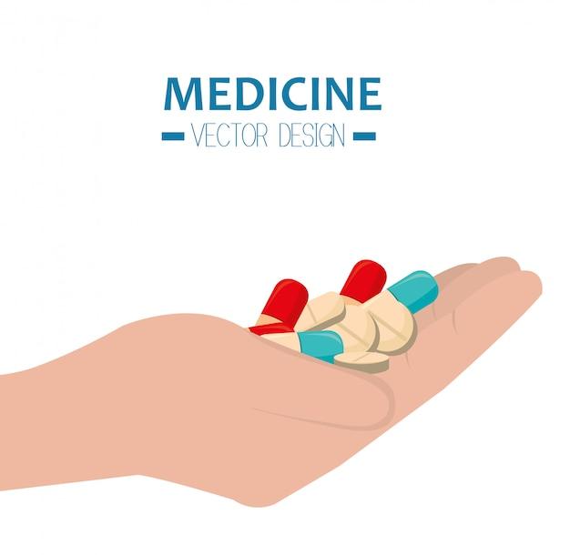 Medizinische gesundheitswesen grafik