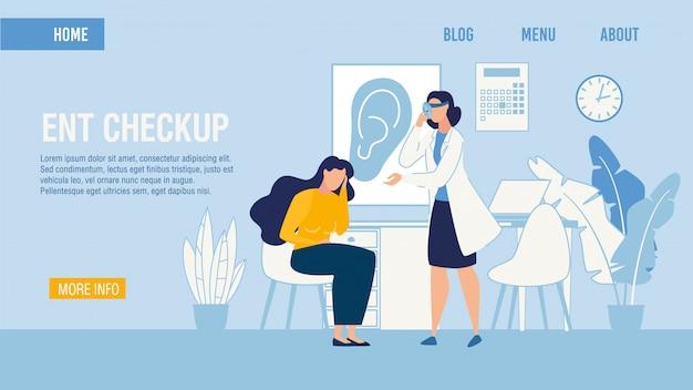 Medizinische hno - checkup - servicepauschale