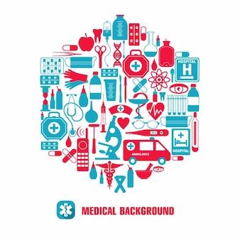 Medizinische icon-set