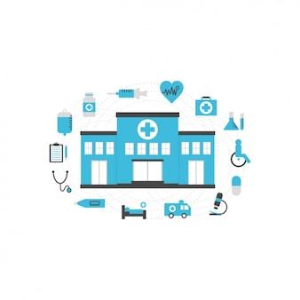 Medizinische ikonen-sammlung