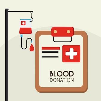 Medizinische ikonen über beige hintergrundvektorillustration