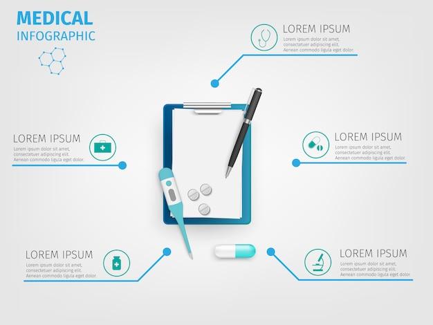Medizinische infografiken