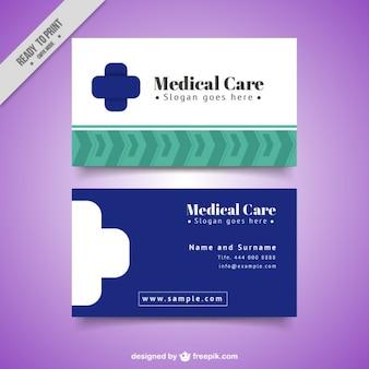 Medizinische karte einfaches design