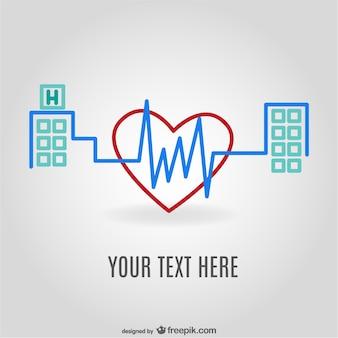 Medizinische logo-vorlage