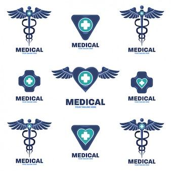 Medizinische logos sammlung