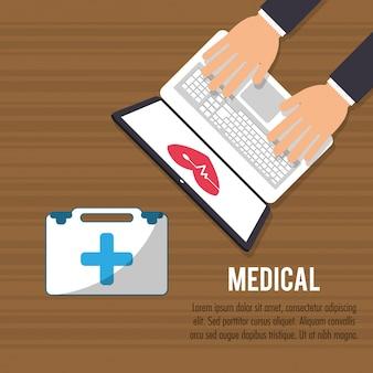 Medizinische online-hilfe gesundheitsversorgung