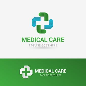 Medizinische pflege logo