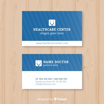 Medizinische visitenkarte