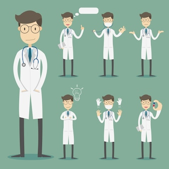 Medizinische zeichensammlung