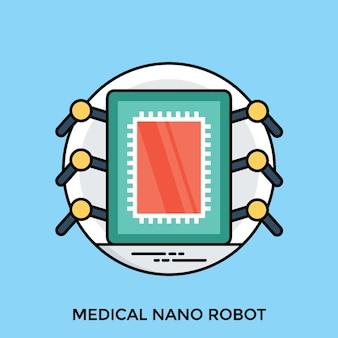 Medizinischer nanoroboter