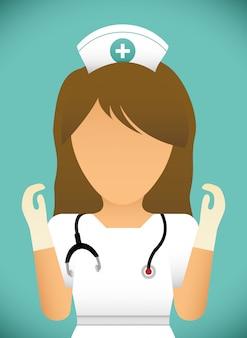 Medizinisches design. illuistration