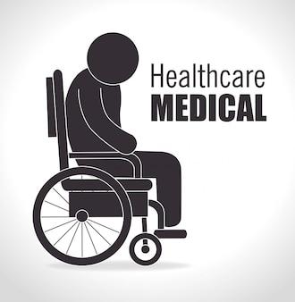 Medizinisches Gesundheitsdesign.