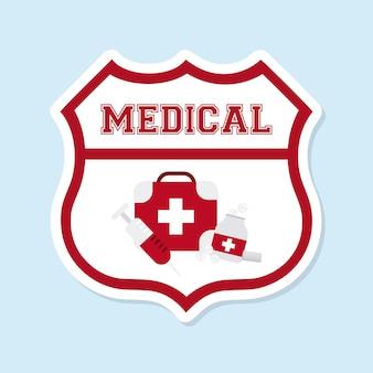 Medizinisches grafikdesign