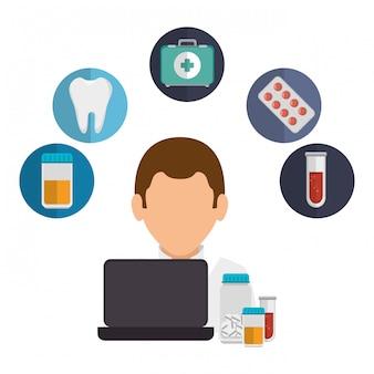 Medizinisches online-design