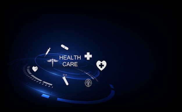 Medizintechnik innovation konzept hintergrund
