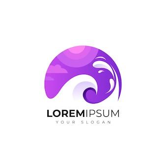 Meer logo vorlage