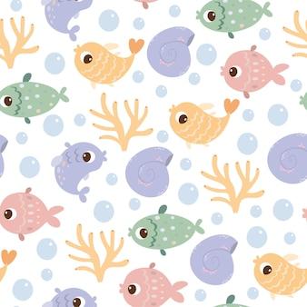 Meeresbodenmuster