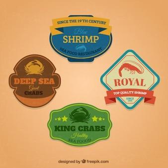 Meeresfrüchte abzeichen