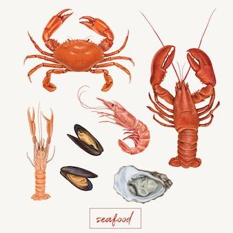 Meeresfrüchte eingestellt