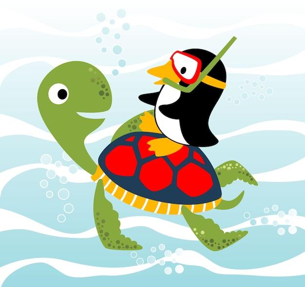Meeresleben cartoon vektor