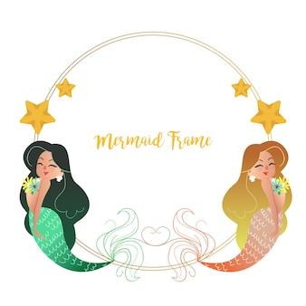 Meerjungfrau-rahmen