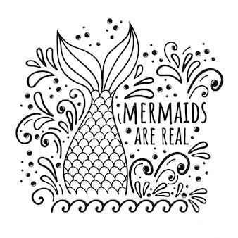 Meerjungfrau sind echt