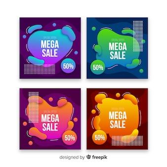 Mega sale instagram post sammlung