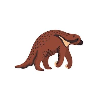 Megalonyx prähistorisches ausgestorbenes nordamerikanisches riesenfaultier jeffersons faultier