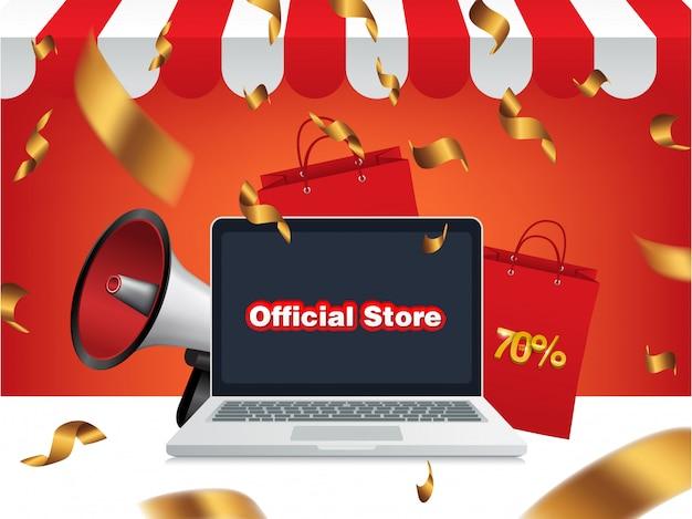 Megaphon-verkauf, offizieller online-shop