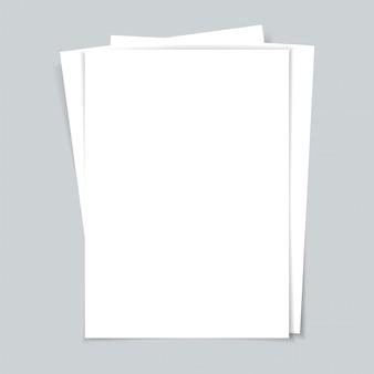 Mehrere dokumente. papierblätter.