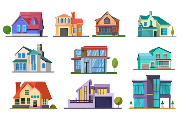 Mehrfamilienhaus gesetzt