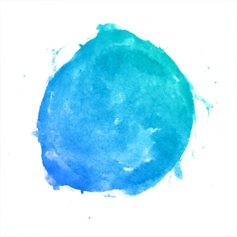 Mehrfarbiger aquarell-spritzfleck