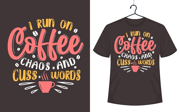 Mein körper ist ein filter kaffee geht auf sarkasmus geht aus, kaffee zitiert schriftzugdesign.