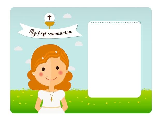 Meine erste kommunionseinladung