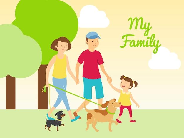 Meine familie und haustiere