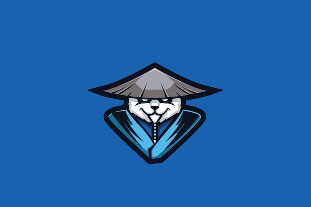 Meister panda e sports logo