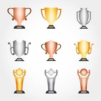 Meisterschaft-trophäensammlung