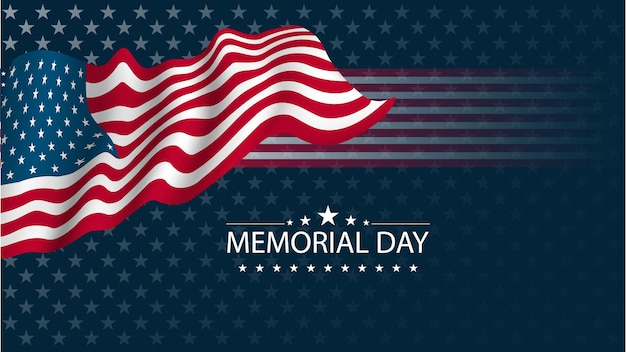 Memorial day oder independence day konzept